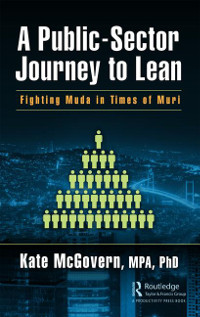 Cover of A Public-Sector Journey to Lean by Kate McGovern