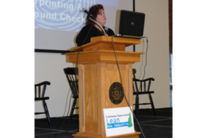 NH DOS Roberta Witham speaker at Lean Summit 2014