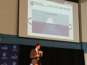 Paul DeMello provides remarks on importance of Lean